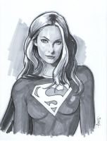 Supergirl by artofaxis
