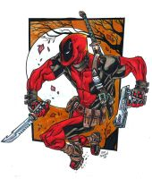 deadpool... by illustrated1