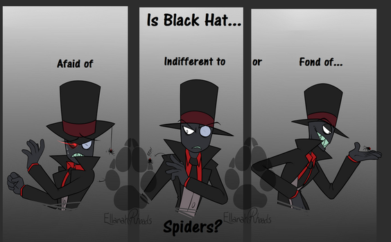 Villainous: Black Hat, Spiders? by Red-Fox92