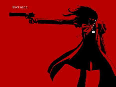 Alucard iPod nano. commercial by Takirami