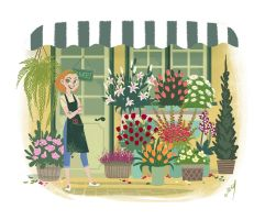 flower shop by miss-dronio