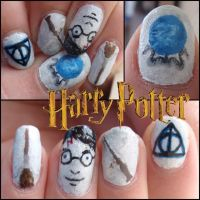 harry potter nails 3 by Ninails