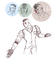 Eddie practice doodles by Monoroch