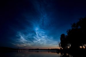 Noctilucent Clouds by Timosetae