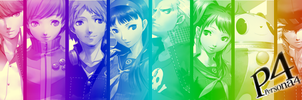 Persona 4 Colorbar by Picup