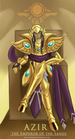Azir The Emperor of the Sands by Trio-Infierno