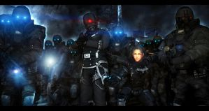 Combine assault party. 512 legion by LordofCombine