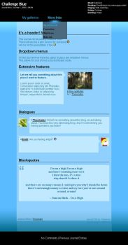 Challenge Blue CSS by Thewinator