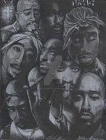 2pac Shrine by CreativeClaude