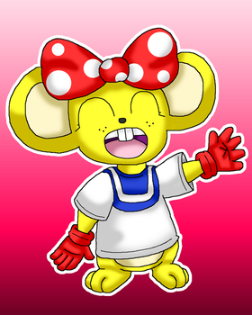 Diddy Kong Racing - Pipsy by Cuperthekiller