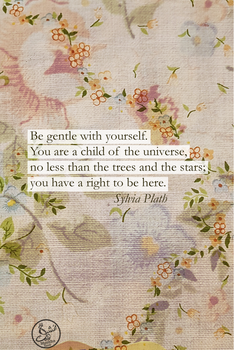Sylvia Plath Quote Phone Wallpaper by Ms-Chutkus