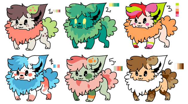 Fluffy Dog Adopts - 5pts by enwruble