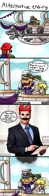 Super Mario Odyssey: Alternative Ending by thegamingdrawer