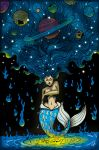 La Sirena Cosmica (The Cosmic Mermaid) by forbiddenminds