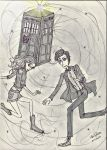 Doctor Who by queenfire