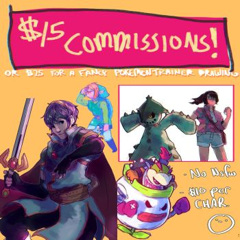 Commissions OPEN! by MEEKIS