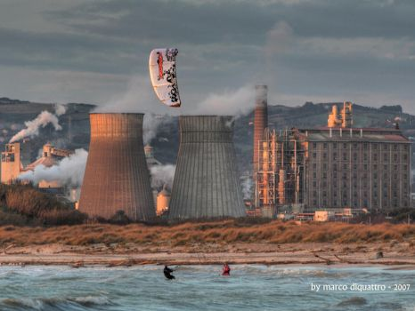 wp-kite and the factory by marcodiquattro