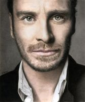 Michael Fassbender by MITSUO2