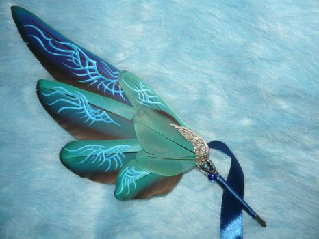 Paragon Soul III - handpainted Featherquill by Ganjamira