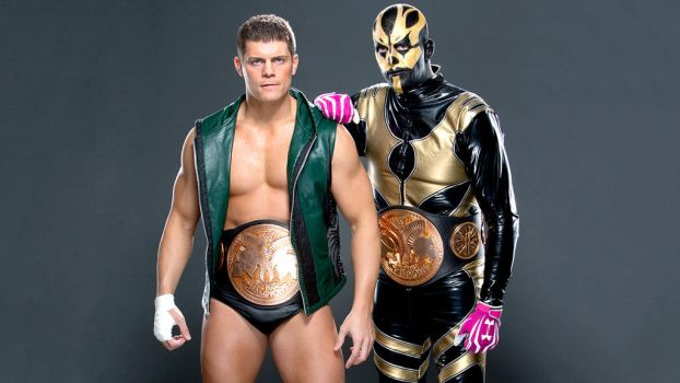 Cody Rhodes and Goldust by TheElectrifyingOneHD