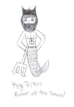 King Triton Ruler of the Seas by VentusAquaTerra