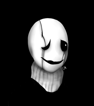 Gaster by FluffehMudkip