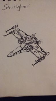 X wing variant 2 by KnightOfPerdition
