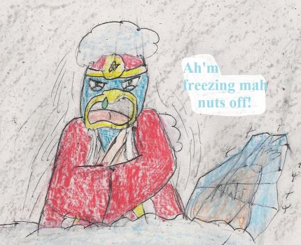 Freezing mah nuts off by kingofthedededes73