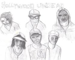 Hollywood Undead by Kutsuro