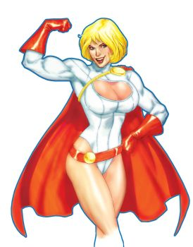 Power Girl by smittyd