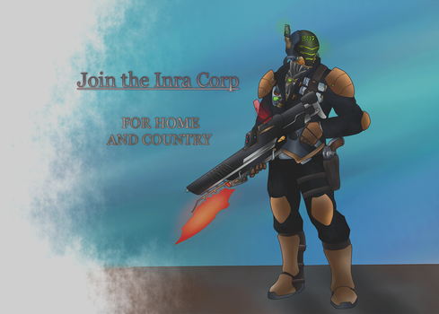 Rakuun - Join the Inra Corp by Hol83