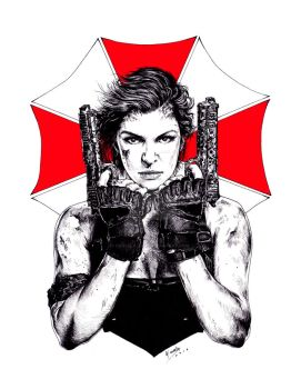 Resident Evil - The final chapter by Carella-Art