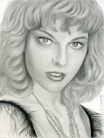 Milla Jovovich - Completed by MayFong
