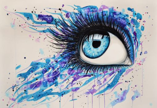 Open your eyes (print version) by PixieCold