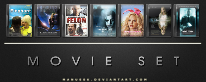 Movie DVD Icons 21 by manueek