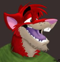 Toothy Grin by RedRodent