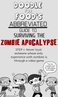 How to: Survive the Zombie Apocalypse by DoodleForFood