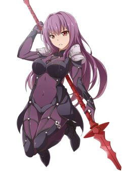 Scathach by MasaBodo