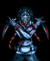 cannibal Jeff by Myhatisblue