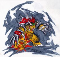bowser by hulkling