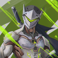S And B Filters >> Genji - Overwatch Wallpaper by RaycoreTheCrawler on DeviantArt