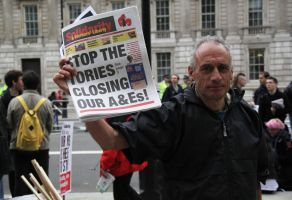 May 18th 2013 - Save the NHS: 41 by LouHartphotography