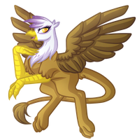 .:Request:. Gilda the Griffin by Amazing-ArtSong