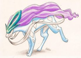 suicune by viktes