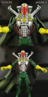 Avengers Movie style Vision Figure by Jin-Saotome