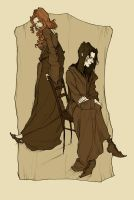 Lily and Severus by AbigailLarson