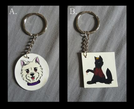 Keyring Commissions!! by BlueSkyWolf