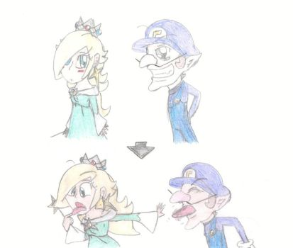 Is rosalina and waluigi married