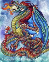 Tremorworks: Dragon color by rachaelm5