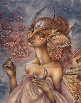 The Moth Rose by sphinxmuse